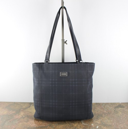 .BURBERRY LONDON CHECK PATTERNED TOTE BAG MADE IN ITALY/バーバリーロンドンチェック柄トートバッグ 2000000045122