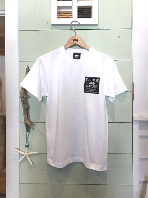 Men's 材木座限定 SQARE-T  / WHITE