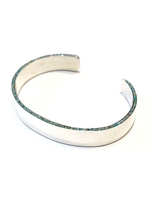 【GARDEN OF EDEN】ENBEDDING TURQUOISE BANGLE #2