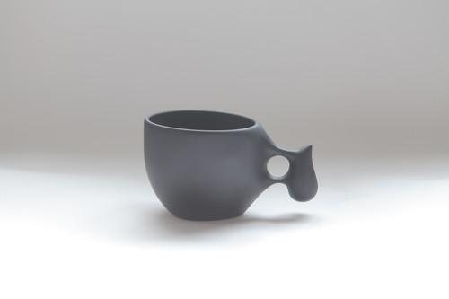 21 mogu cup M  BLACK(山桜材)