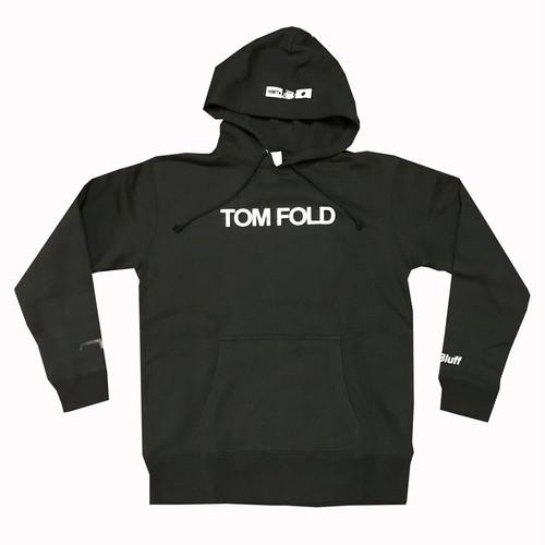4bet/TOM FOLD/プルオーバーパーカー/ブラック
