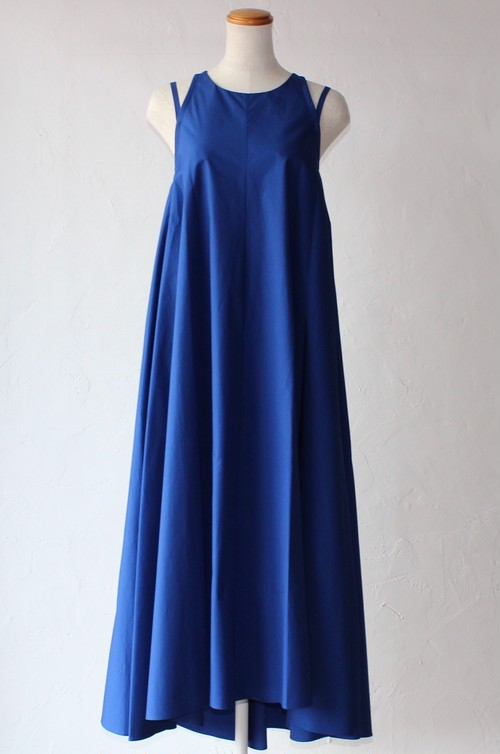 ※再入荷【SAYAKADAVIS】Double Strap Dress-royal blue