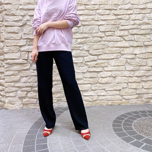 BED&BREAKFAST(ベッドアンドブレックファースト) Dry Stretch Georgette Pants 2021秋物新作 [送料無料]