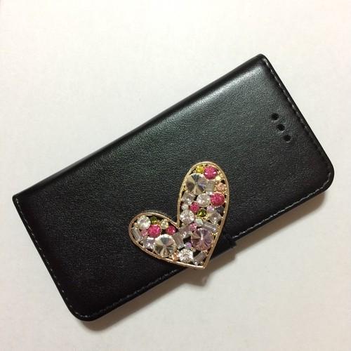 【ブリリアント】iphoneケース(ブラック)