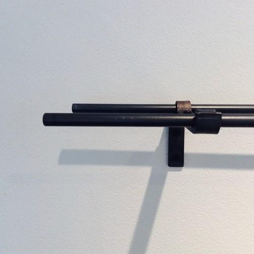 [1110~1500mm]9mmφ ダブルアイアンカーテンレール