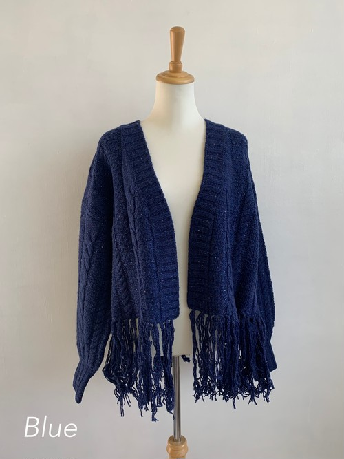 EARIH CABLE KNIT CARDIGAN