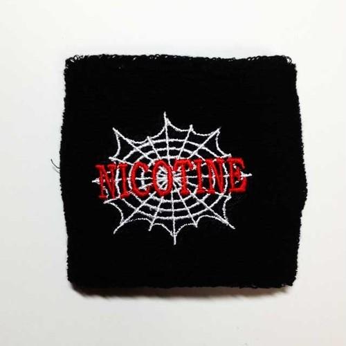 NICOTINE リストバンド SPIDER