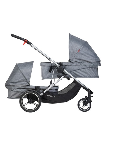 phil&teds voyager buggy Grey Marl フィルアンドテッズ ボイジャー