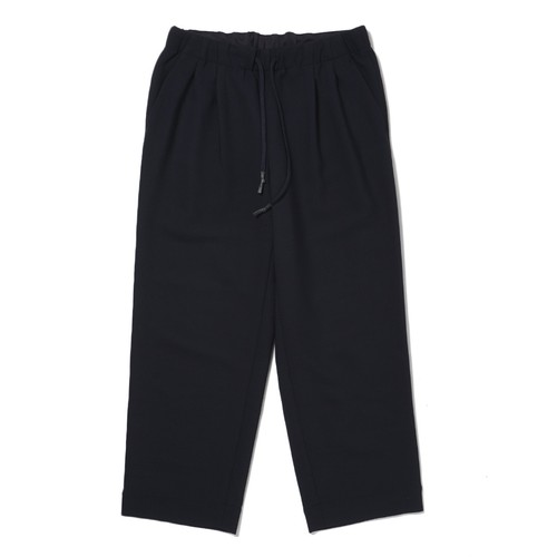 S.F.C WIDE STRAIGHT PANTS WOOL(NAVY)