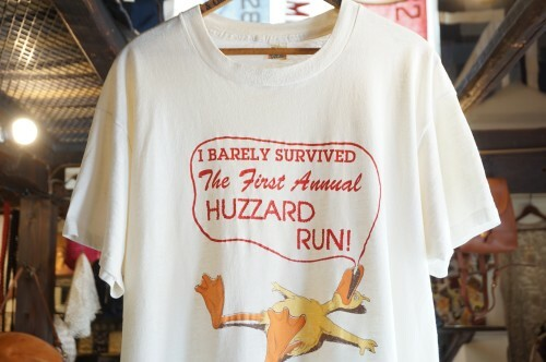 "80's SCREEN STARS BASE 50/50 Tee ""HUZZARD RUN"""