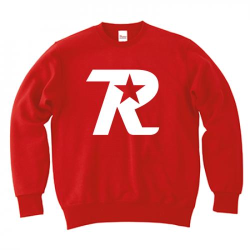 R-logo / スウェット(White/Red)【送料無料】【Shop限定】