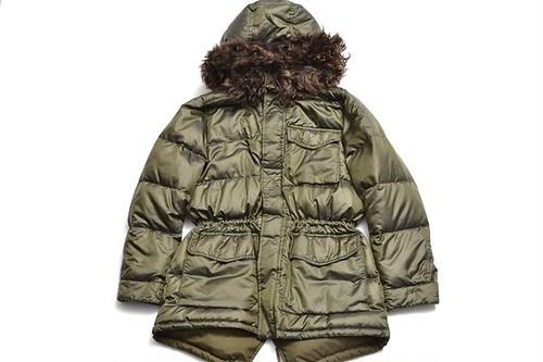 RALPH LAUREN sizeL mirytary down coat