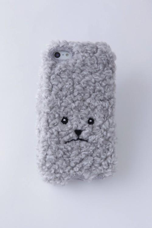 【KEORA KEORA】トイプードルiPhone6/6sカバー(グレー)