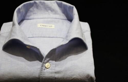 CADETTO ORIGINALS SHIRTS Oxford Blue 2019SS Model