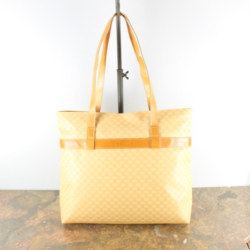 .OLD CELINE MACADAM PATTERNED TOTE BAG MADE IN ITALY/オールドセリーヌマカダム柄トートバッグ 2000000039398