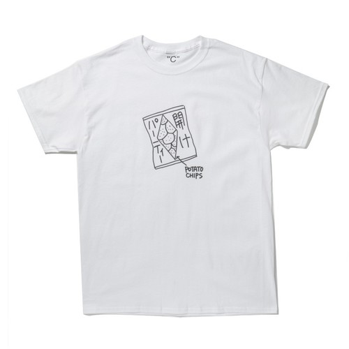 KEN KAGAMI Party Opening T-SH(WHITE)