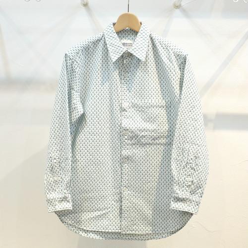 KUON(クオン) 十字刺し子セミロングシャツ
