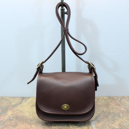 .OLD COACH TURN LOCK LEATHER SHOULDER BAG MADE IN USA/オールドコーチターンロックレザーショルダーバッグ 2000000031552
