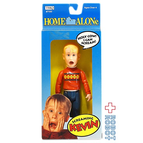THQ ホームアローン ケヴィン スクリーミング アクションフィギュア 箱入 20210420入荷