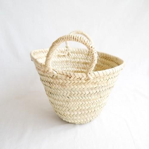 椰子のかごバッグ 小