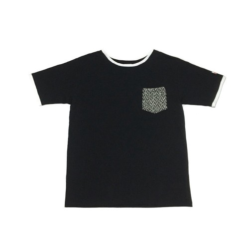 Wool pocket tee