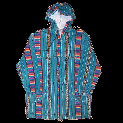 """Stone"" Vintage Long Cotton Coat Used"