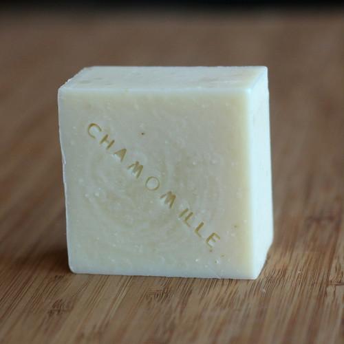 ベビーのための♡オートミールとカモミールの石鹸