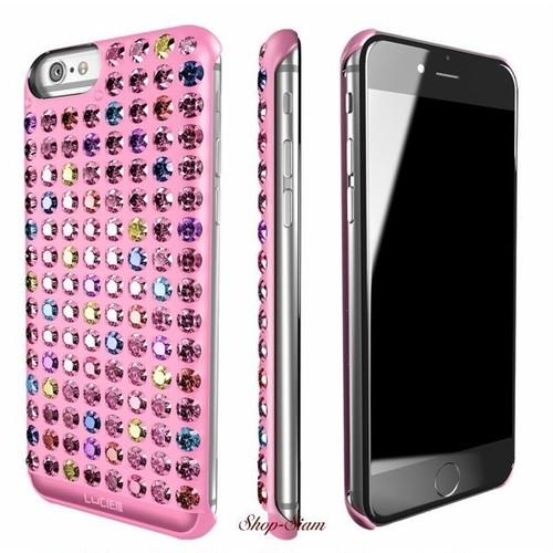 LUCIEN(ルシアン) iPhone6 Plus/6S Plus case Multicolor <Light Pink>