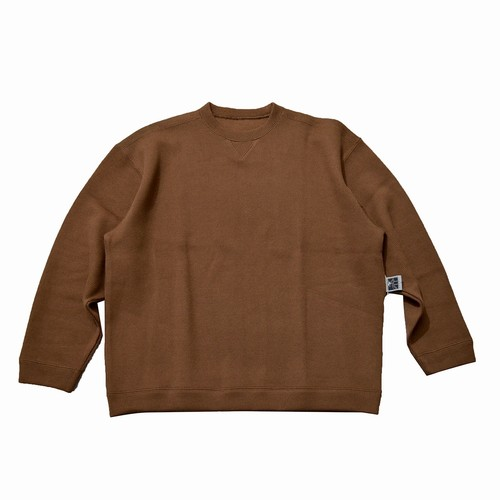 NOROLL / ATHLETIC KNIT SWEAT -BROWN-
