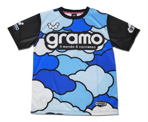 プラクティスシャツ「cloud3」(ブルー/P-054)☆受注生産可☆