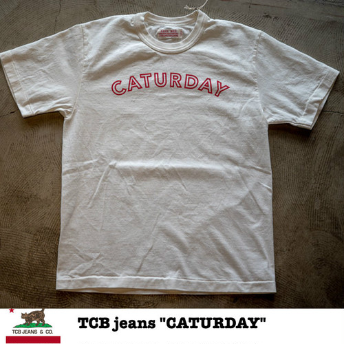 """CATURDAY"" SURE ☓ TCB Collab T-shirts"