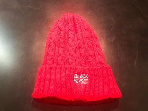 BlackFlys 【STANDARD TRADE CABLE KNIT レッド - FREE】