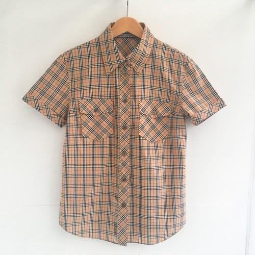 Burberry's check  shirts