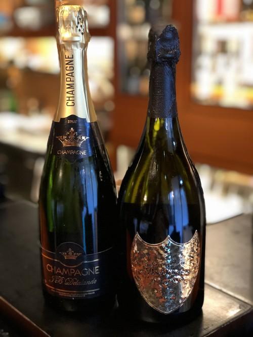 2008年ドン ペリニョン(レニー クラヴィッツボトル)とマノワのシャンパーニュセット(計2本)