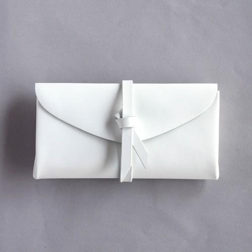 ori long wallet / 折りロングウォレット #white 白