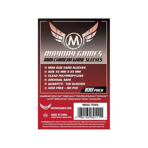 (43x65mm) Mayday カードスリーブ MDG-7045