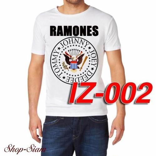 ラモーンズ Ramones バンドロゴ/Band Logo プリントTシャツ