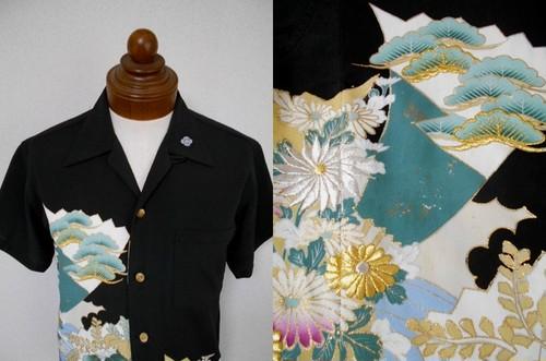 着物アロハシャツ AL-583/M