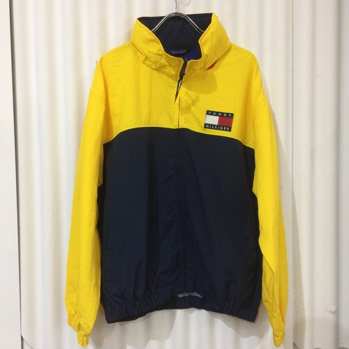 90s TOMMY HILFIGER ナイロンジャケット size:L