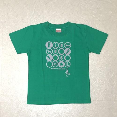 特価 Tシャツ フィドラーズフェス2017 グリーン