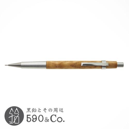 【CRAFT A/クラフトエー】製図用シャープペンシル / タモ杢 (0.5mm)E
