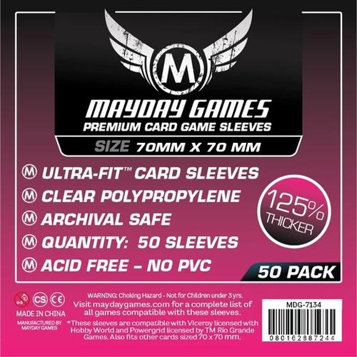 【スリーブ】Square Card Sleeves 70×70  50枚 / mayday games