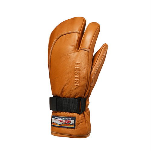 HESTRA GLOVE ヘストラ グローブ 30872  3-FINGER FULL LEATHER 710 CORK