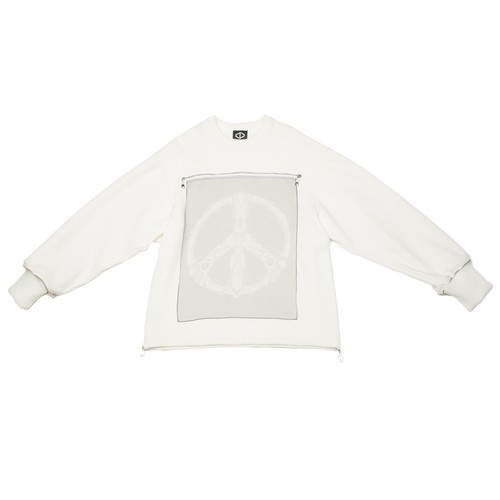 Peace Sweat Shirts (White)