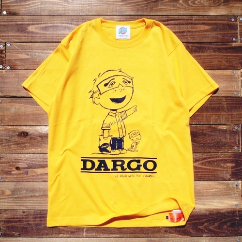 "【DARGO】""FUKUOKA CITY"" T-shirt (GOLD YELLOW)"