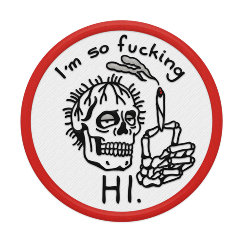 So Fucking Hawaii Patch (Iron-On)