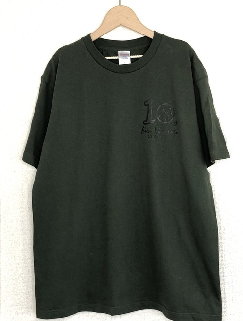 10th Anniversary Tシャツ【another color ver】