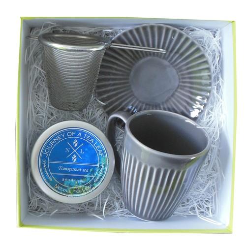 マグカップとお手軽茶こしのセット