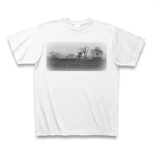 モノクローム1 Tシャツ ホワイト