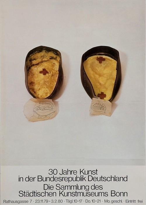 Joseph Beuys / Kunstmuseum Bonn ポスター 1979